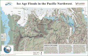 Ice Age Floods in the Pacific Northwest Map