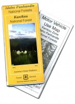 Idaho Panhandle National Forests Kaniksu National Forest Map