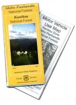 Idaho Panhandle National Forests Kaniksu National Forest Map