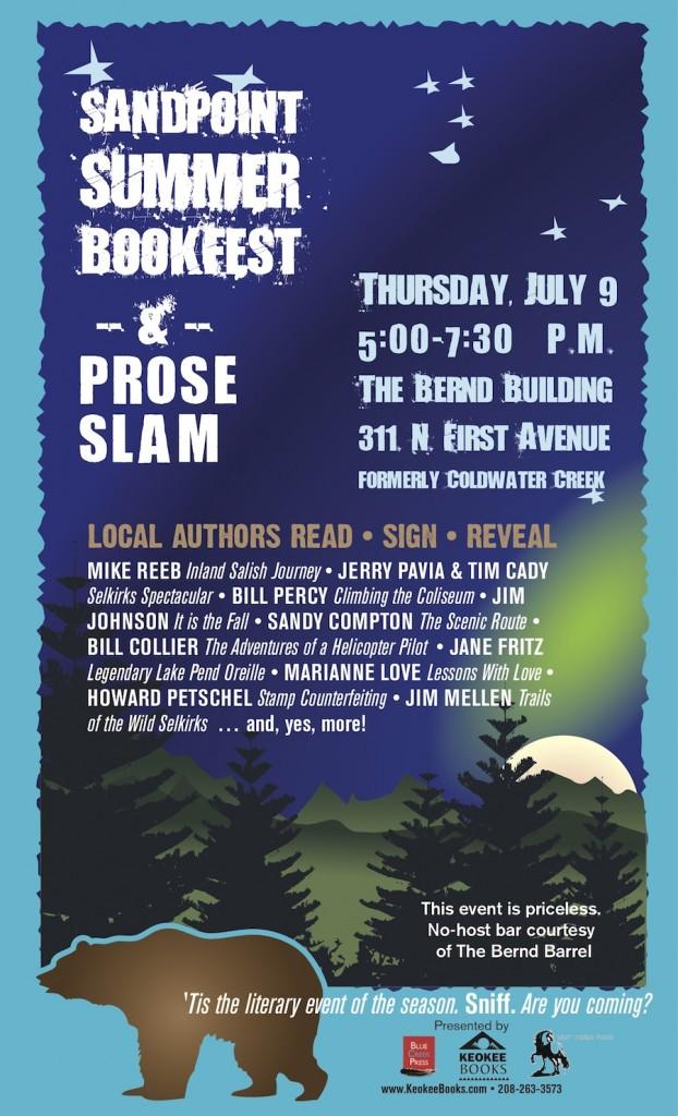 Sandpoint BookFest & Prose Slam