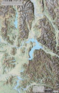 Ice Age Floods map - back image