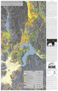 Ice Age Floods Map, front