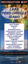 Lake Pend Oreille Recreation Map